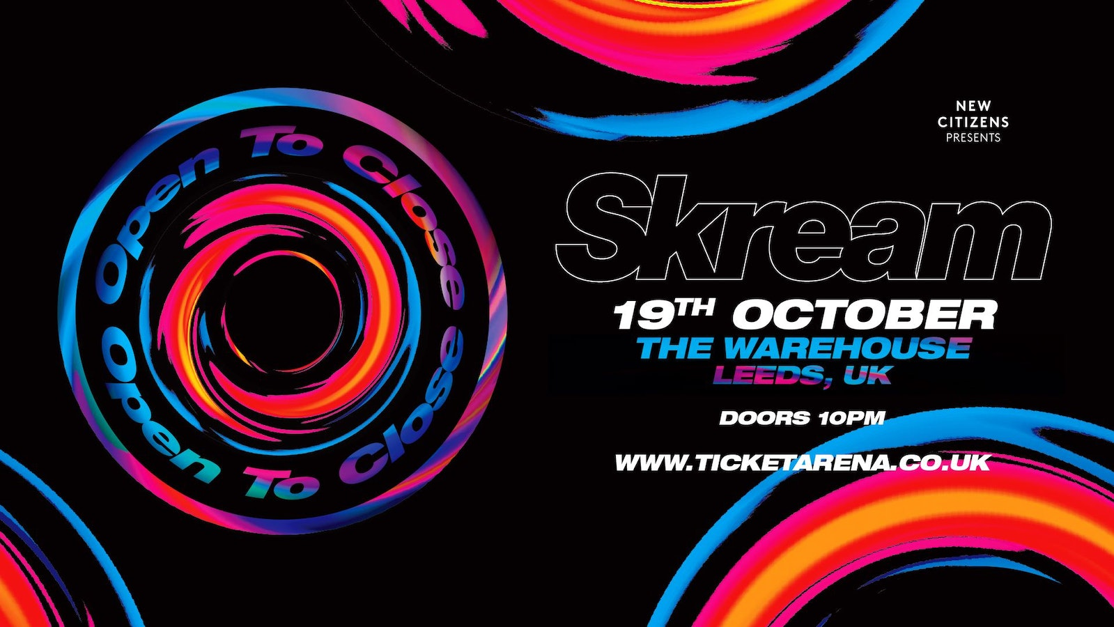 Skream: Open to Close at The Warehouse Leeds