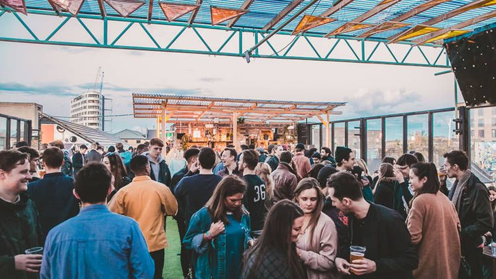 Dalston's End of Summer Roof party with Byday Bynight