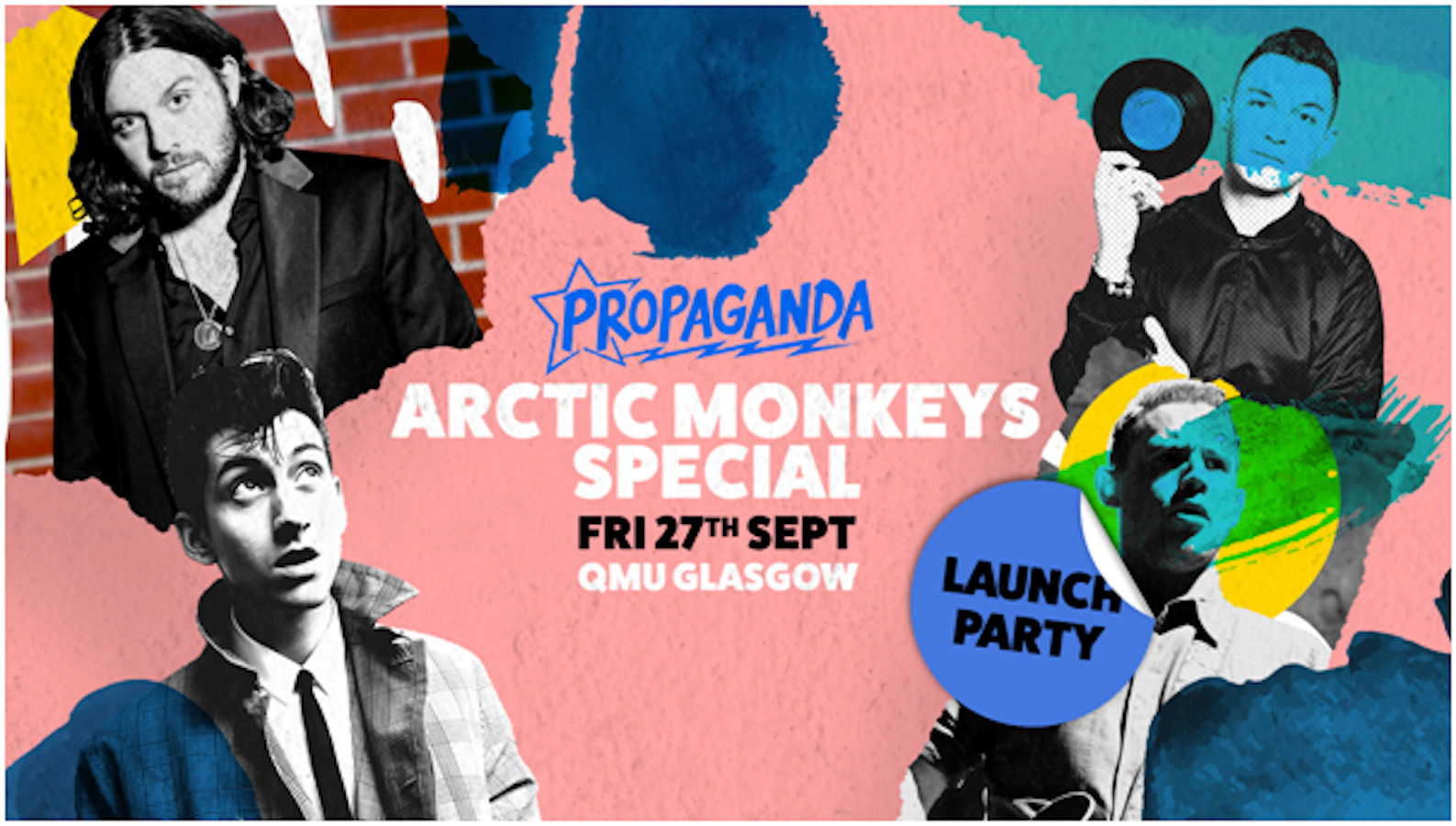 Propaganda Glasgow – Launch Party at QMU: Arctic Monkeys Special!