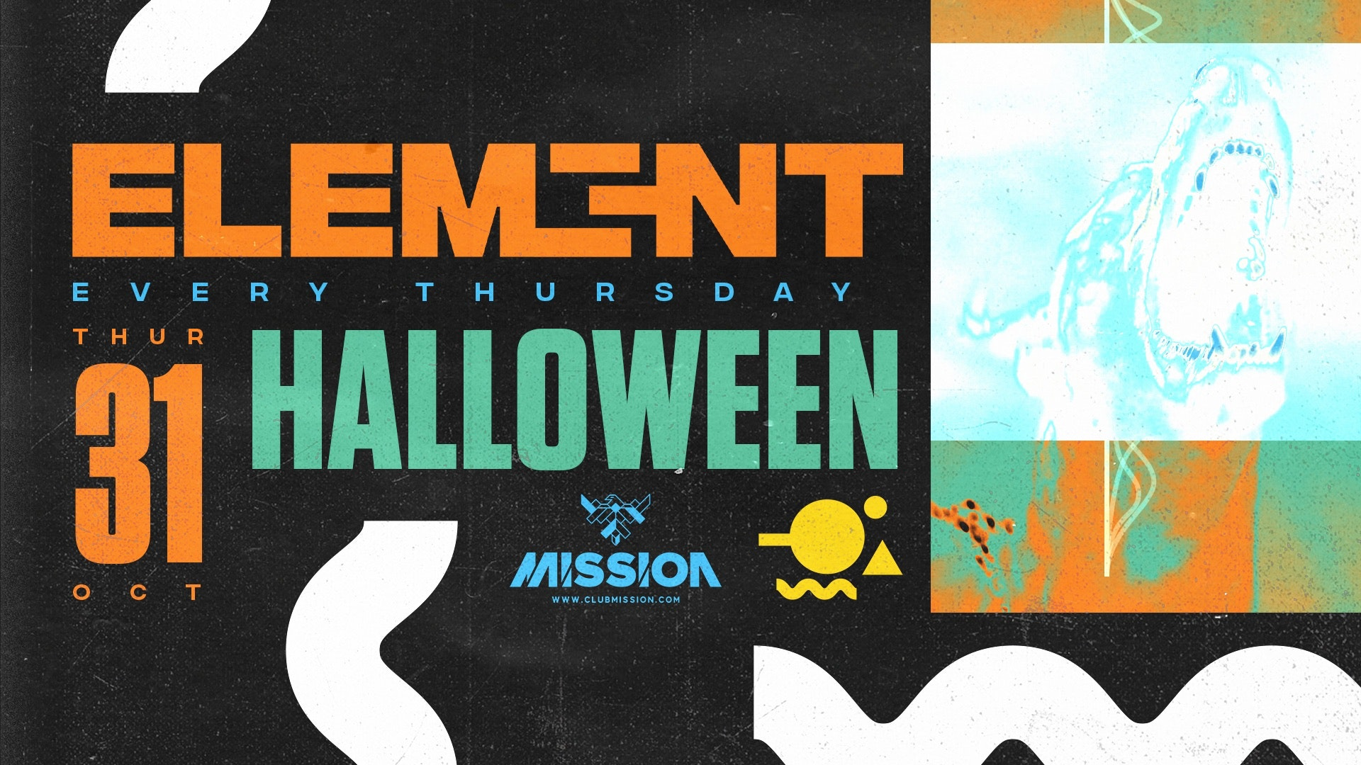 Element. Halloween