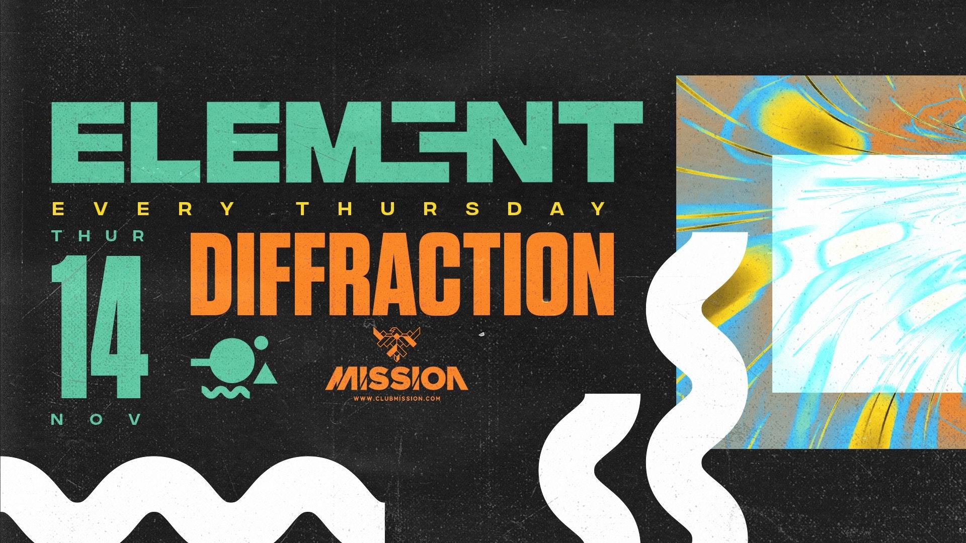 Element. Diffraction