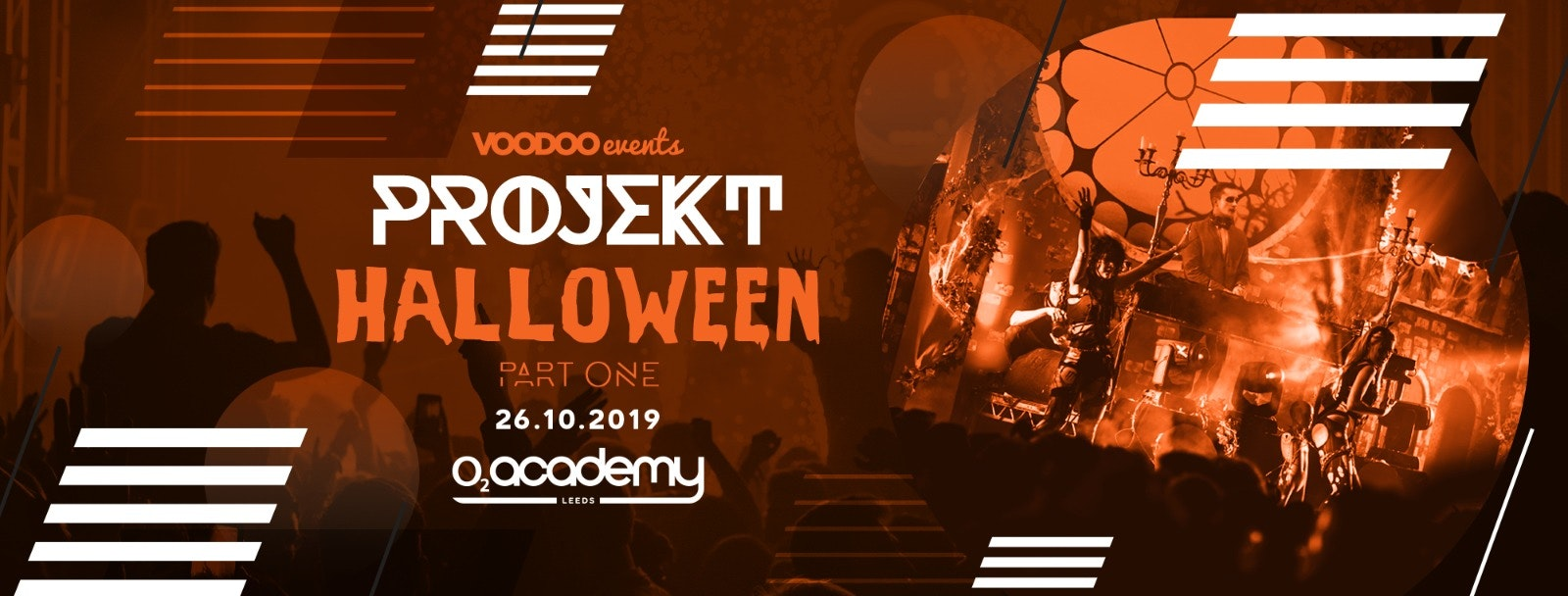 PROJEKT – Saturdays at O2 Academy – Halloween pt 1