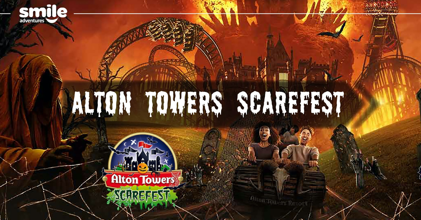 Alton Towers  SCAREFEST! – From Manchester