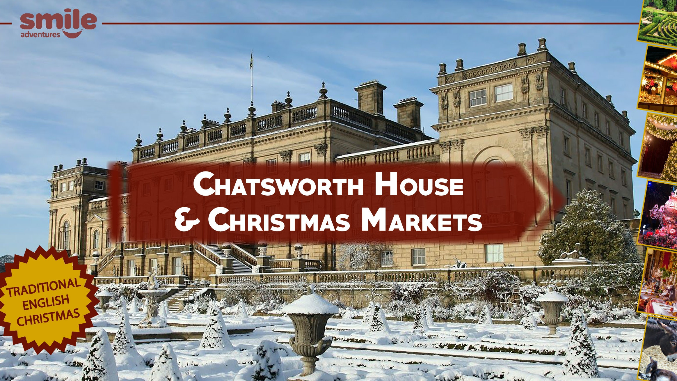 Christmas at Chatsworth House – From Manchester