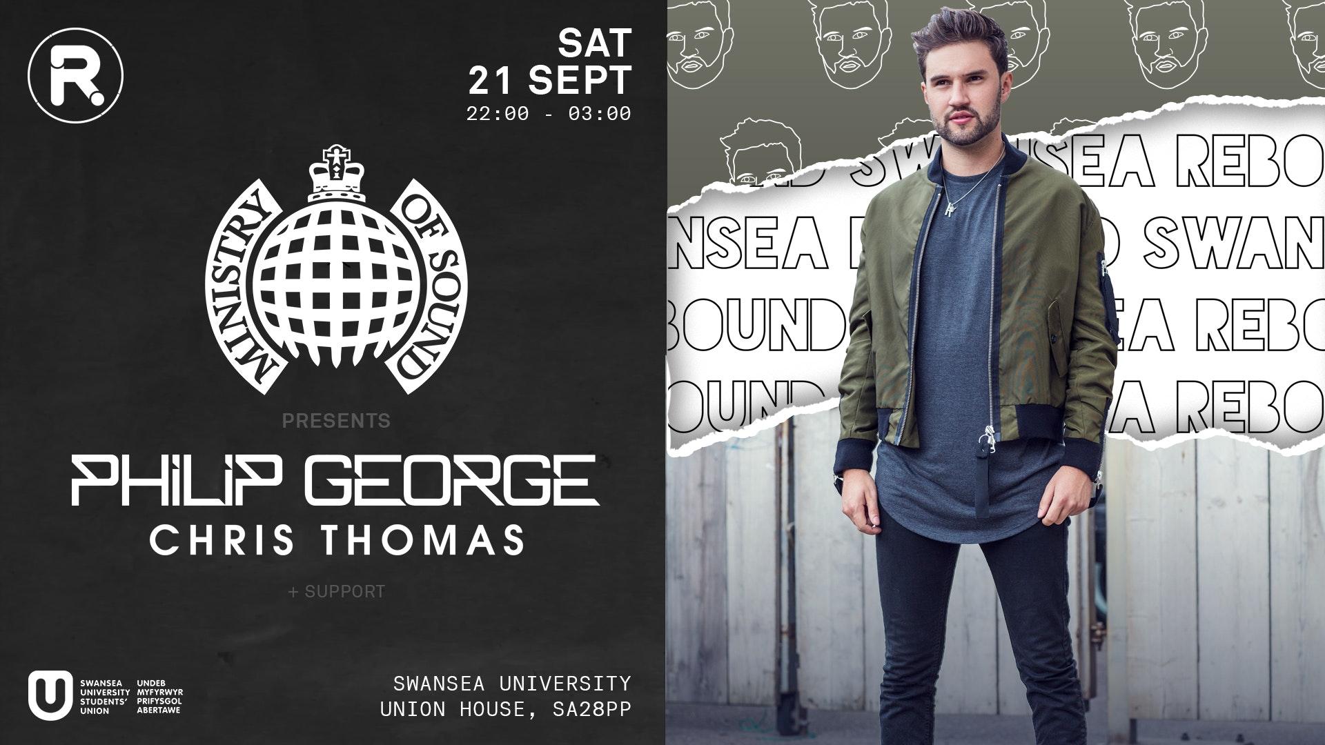 Ministry of Sound Takeover w/Philip George • SU Fest 19 • Club Nights