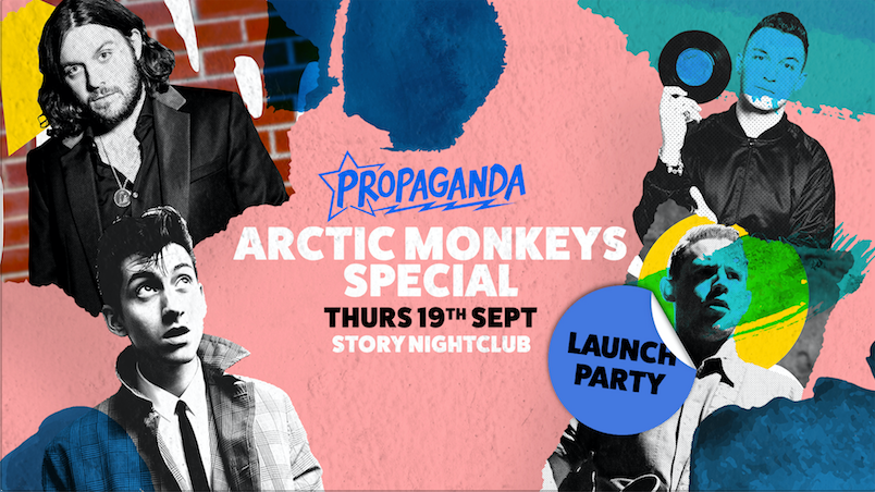 Propaganda Cardiff – Launch Party at Story Nightclub: Arctic Monkeys Special!