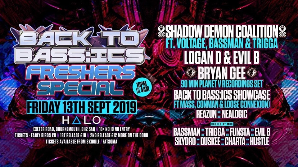 Back To Bass:ics – Freshers Special