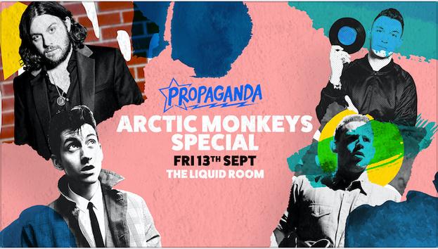 Propaganda Edinburgh – Arctic Monkeys Party