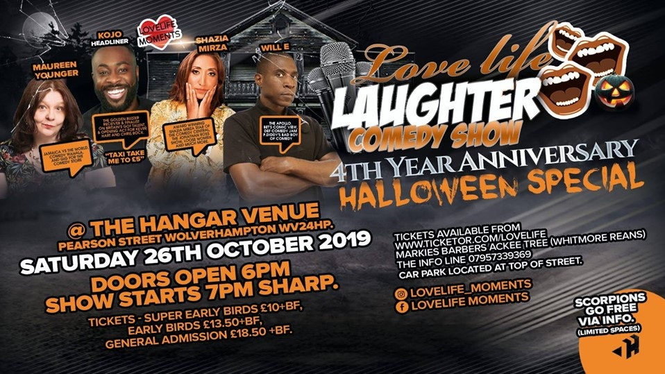 LoveLife Laughter Comedy Show Halloween Special