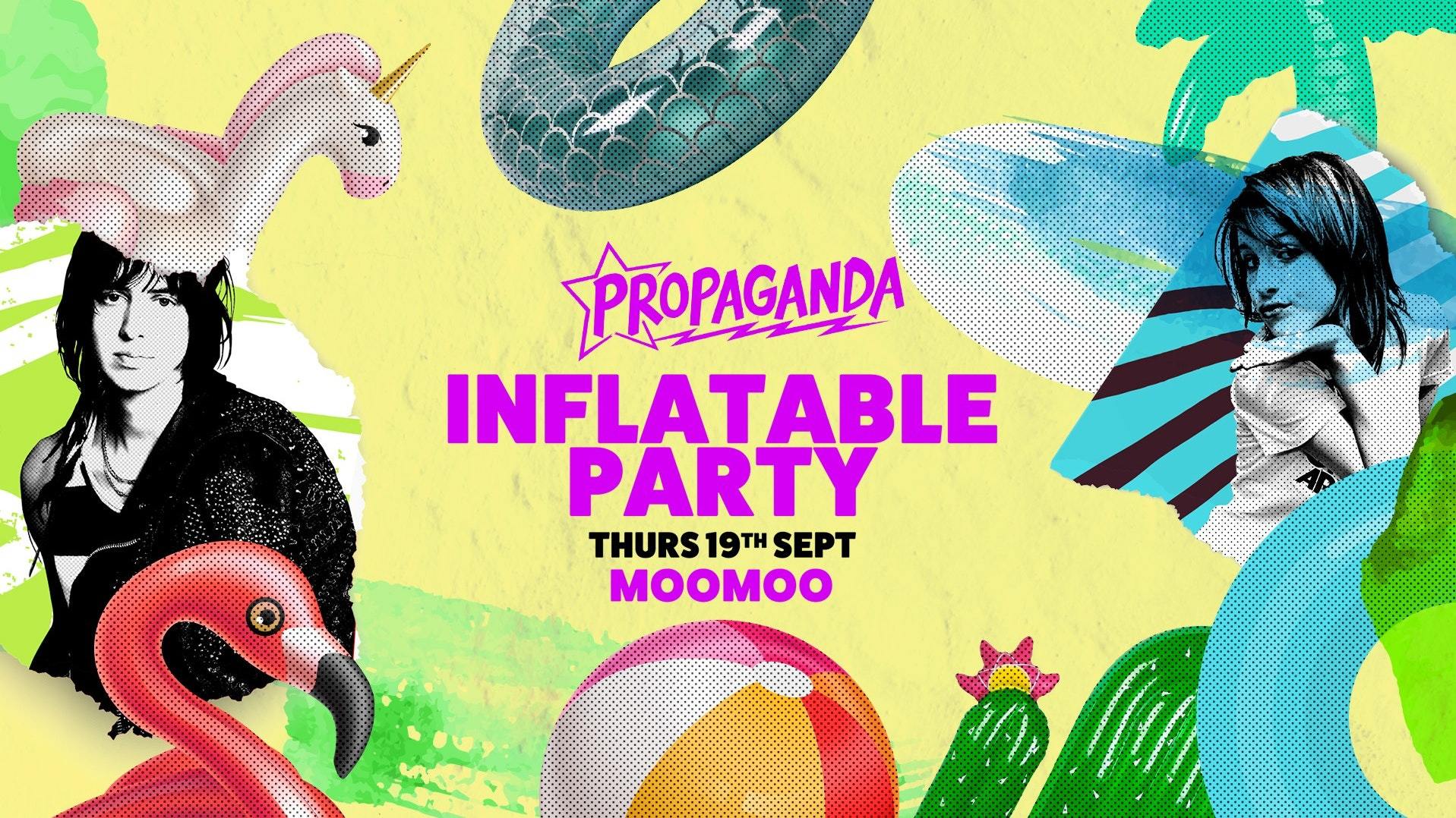 Propaganda Cheltenham – Inflatable Party!