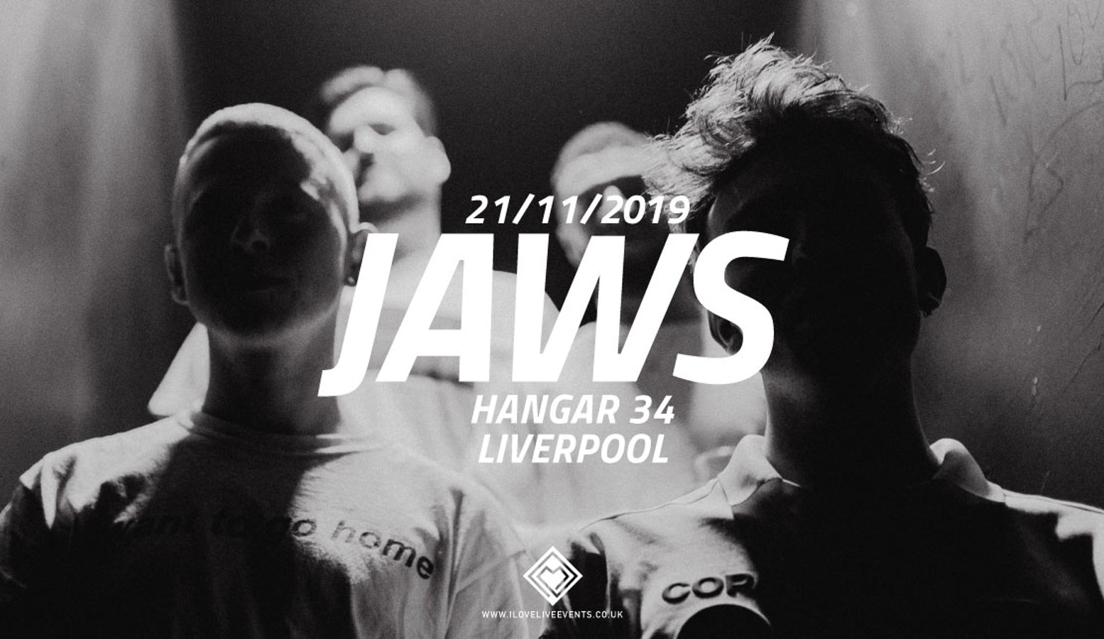 JAWS – Hangar34, Liverpool – 21/11/19
