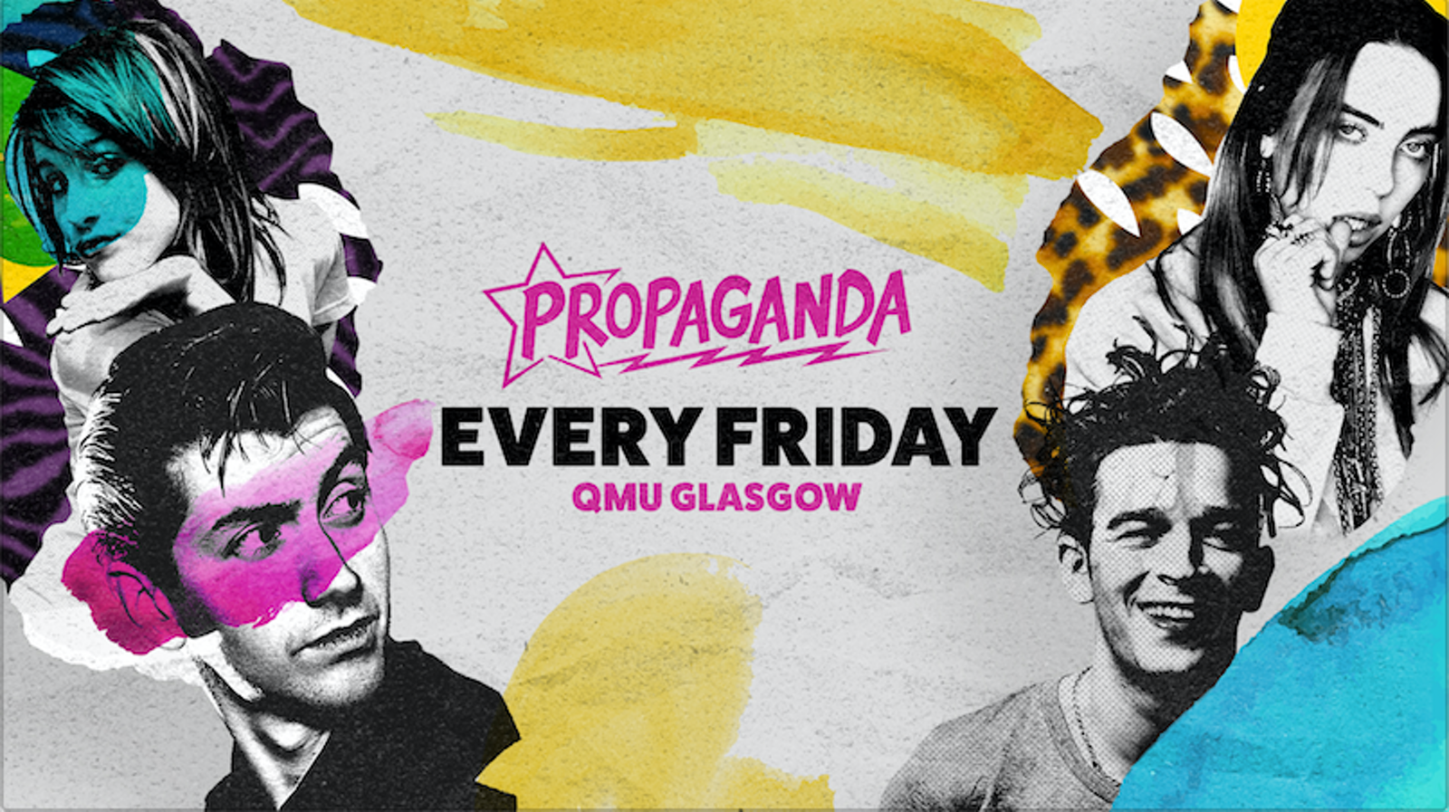 Propaganda Glasgow – UV Party!