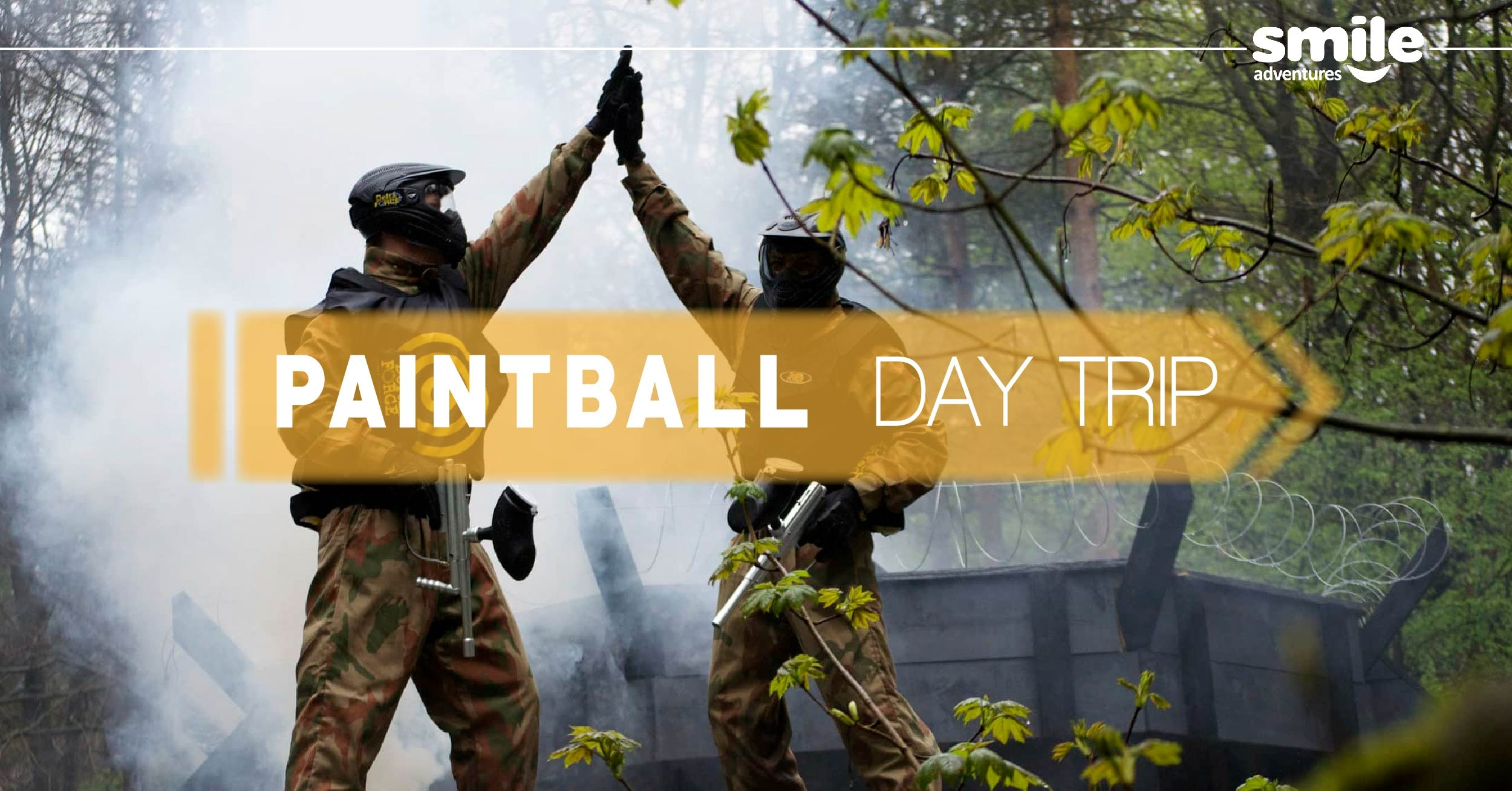 Paintball Day – From Manchester