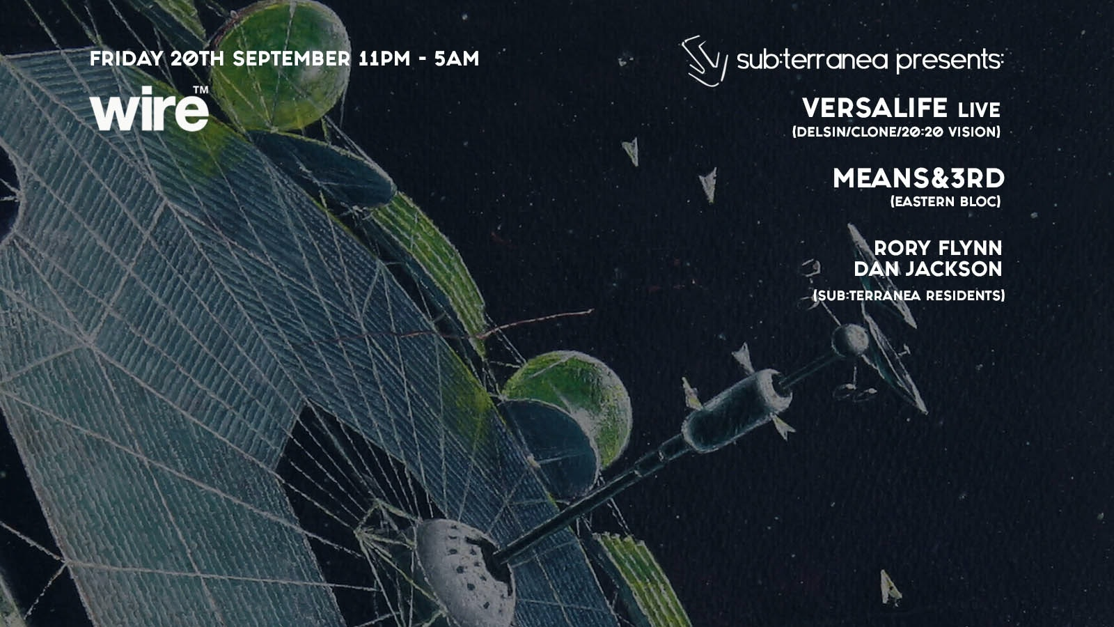 Sub:terranea presents Versalife Live and Means&3rd