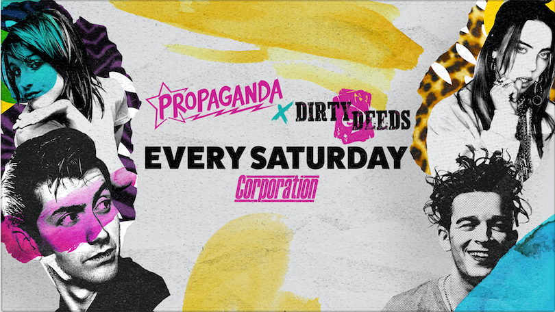 Propaganda Sheffield & Dirty Deeds – Inflatable Party!
