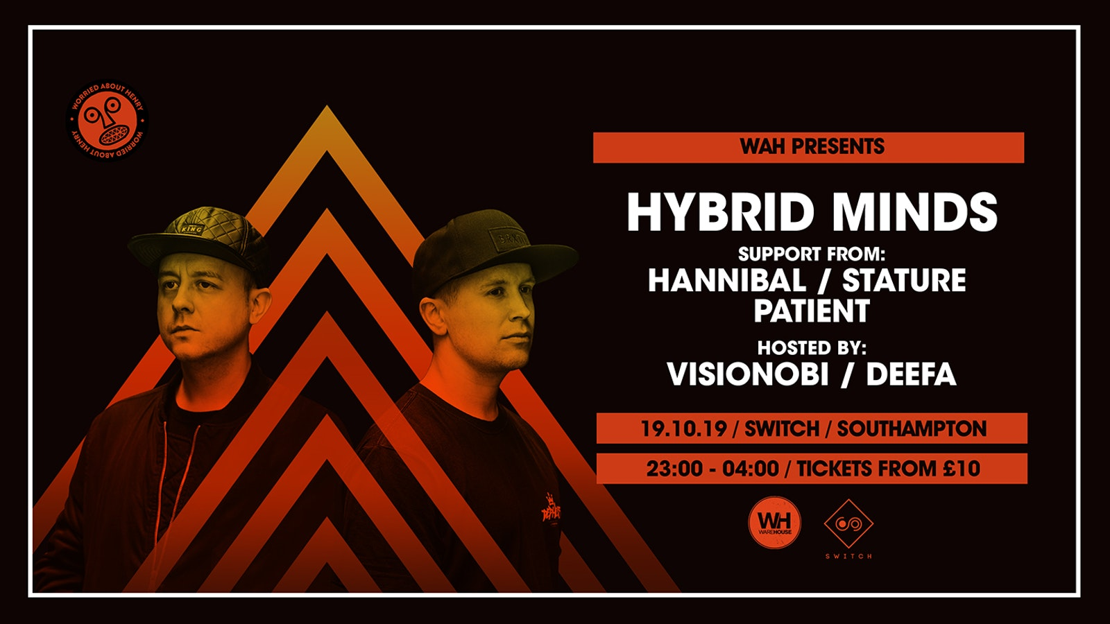 Warehouse & Worried About Henry present: Hybrid Minds