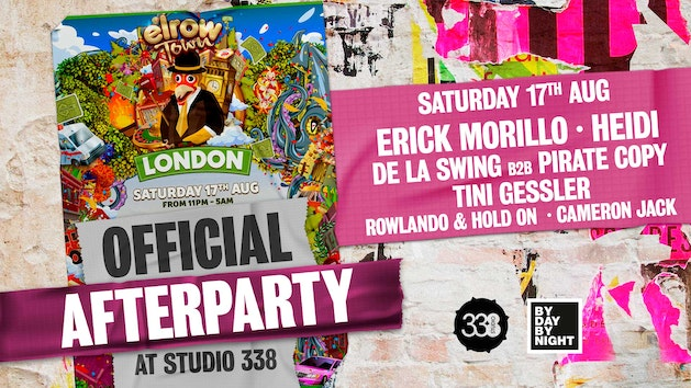 Elrow Town official after party: Studio 338