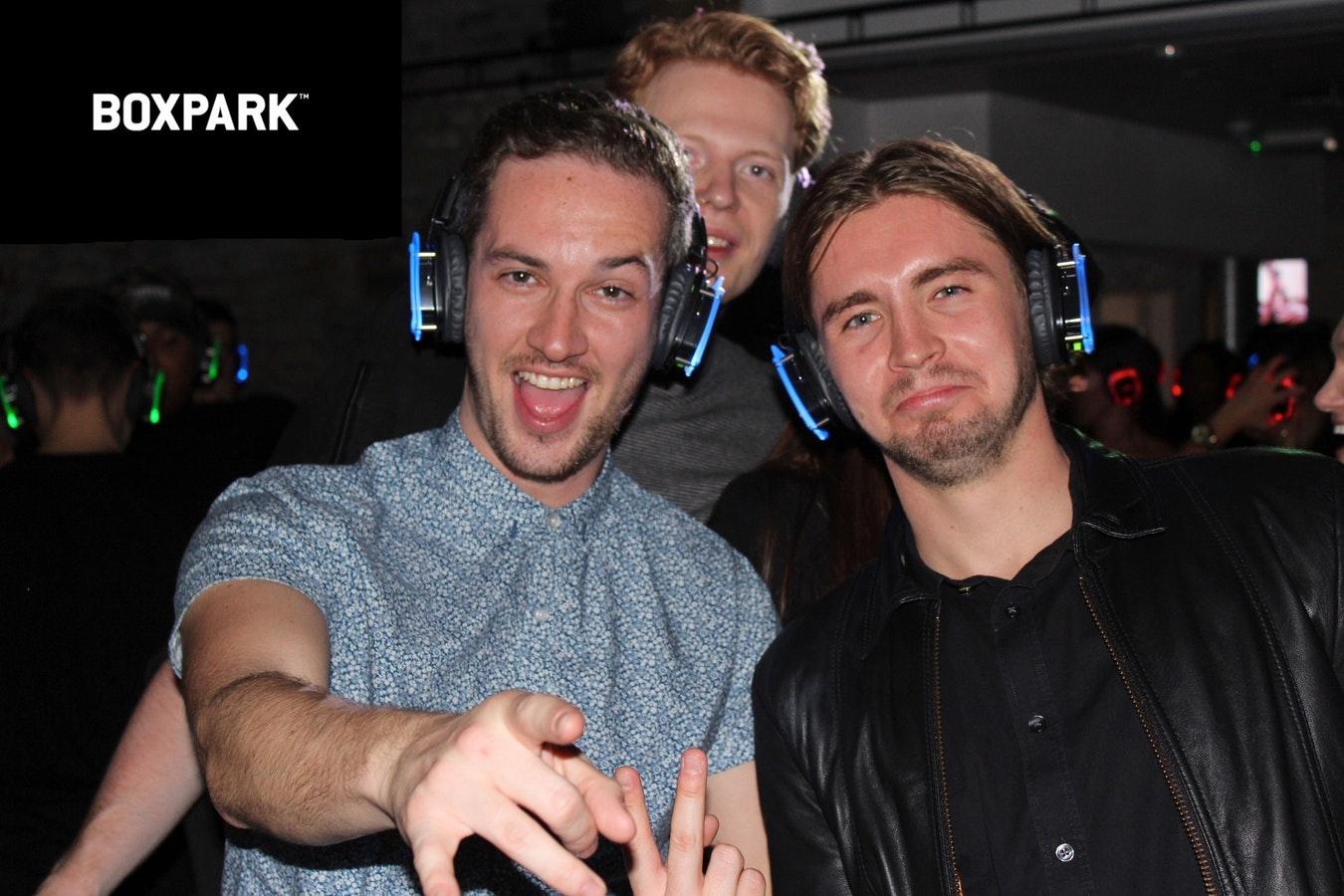 FREE Headphone Party @Boxpark Shoreditch