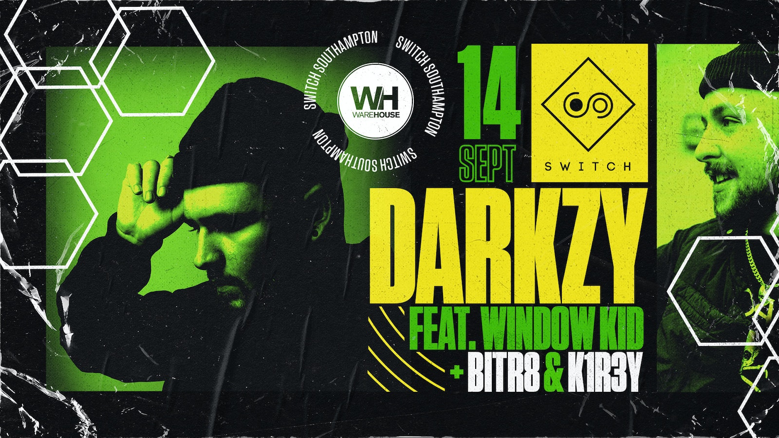 Warehouse Presents: Darkzy feat. Window Kid