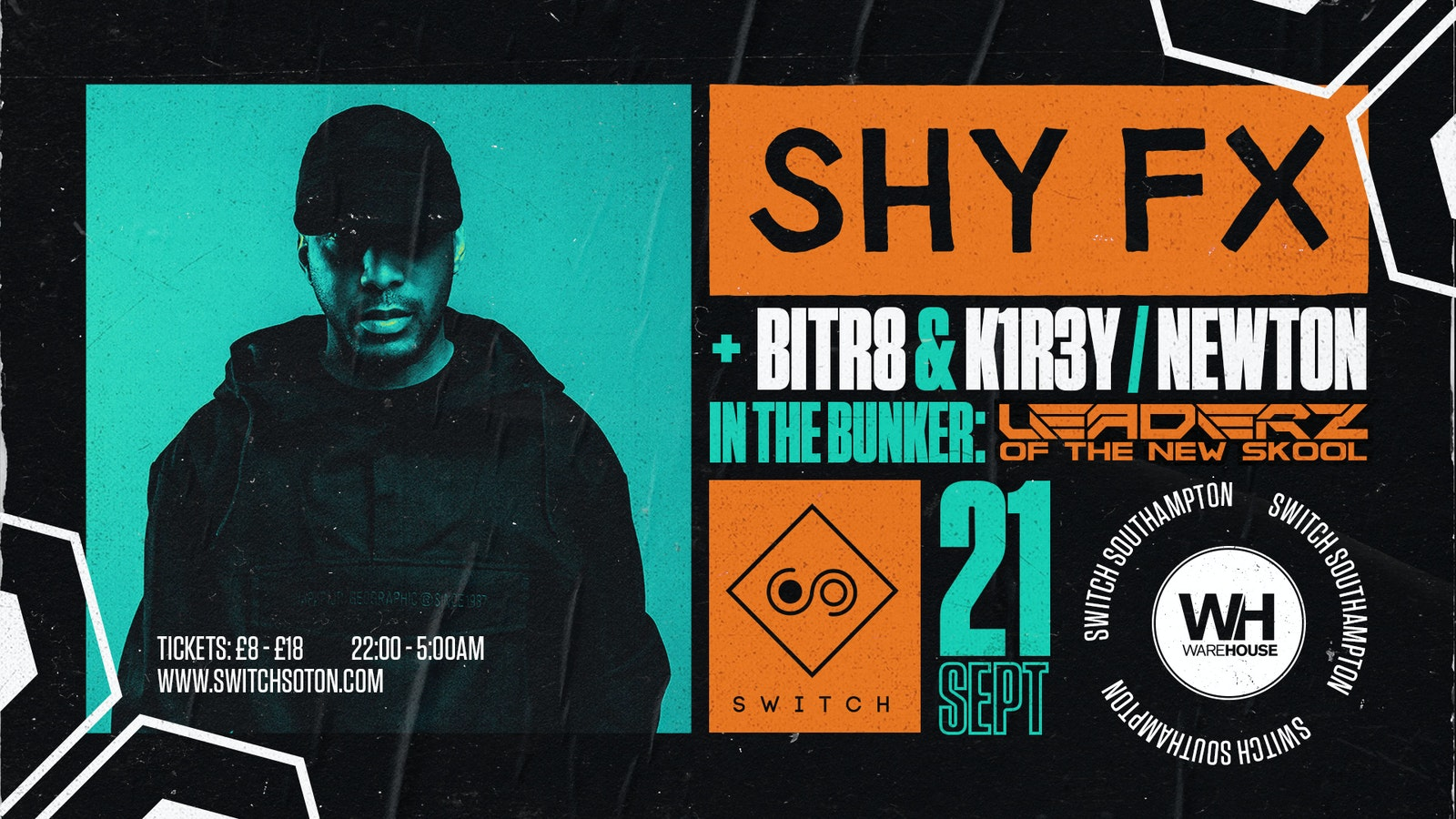 Warehouse Presents: Shy FX
