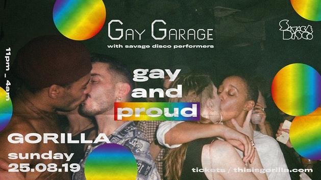 Gay Garage – Gay Pride After Party