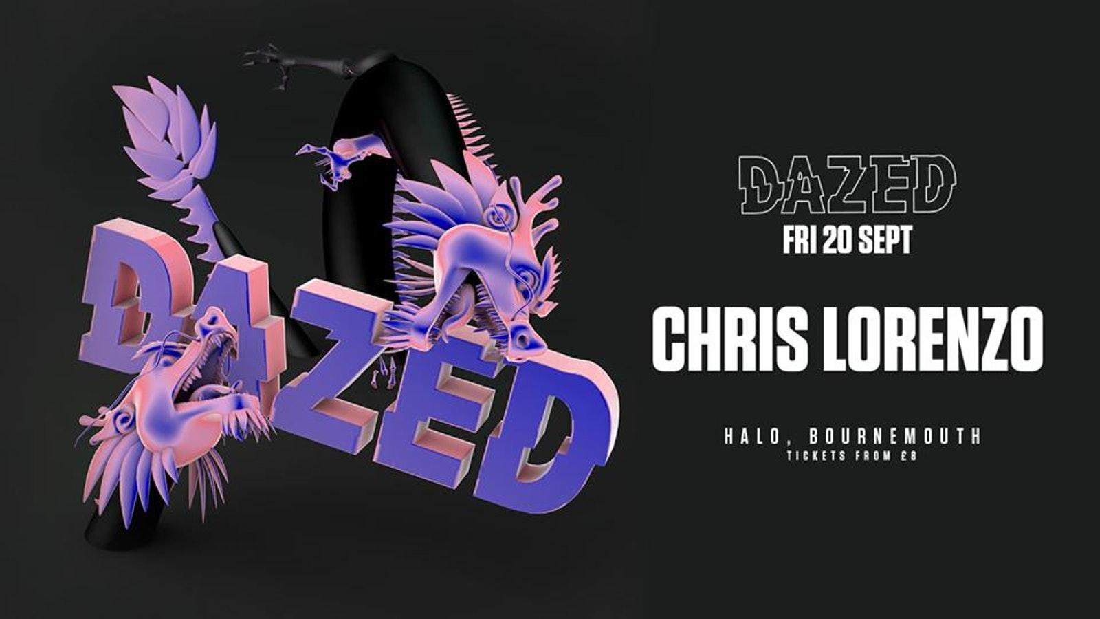 DAZED present: Chris Lorenzo