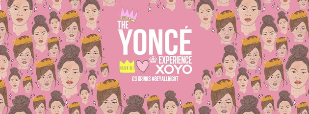 The Yoncé Experience – September   Freshers 2019 at XOYO London