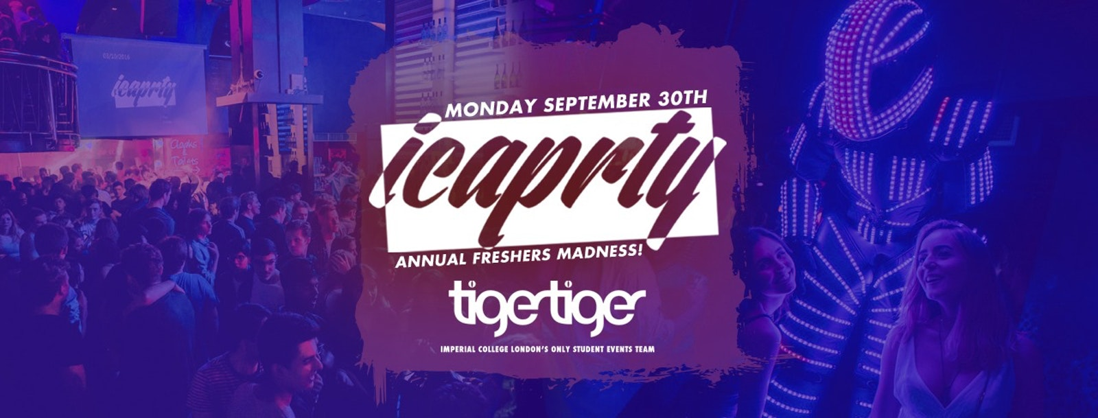 IC a PRTY! The Annual Freshers Madness 2019