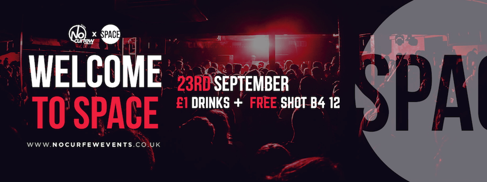 Welcome to Space :: Mon 23rd September :: £1 Drinks