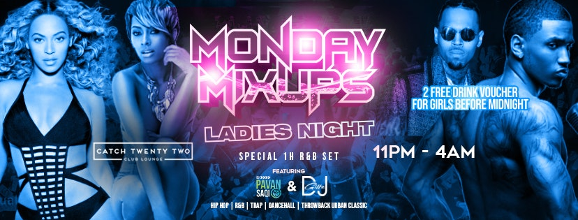 Monday Mixup – Ladies Night R&B Special Beyonce, Neyo.. / Coventry Freshers