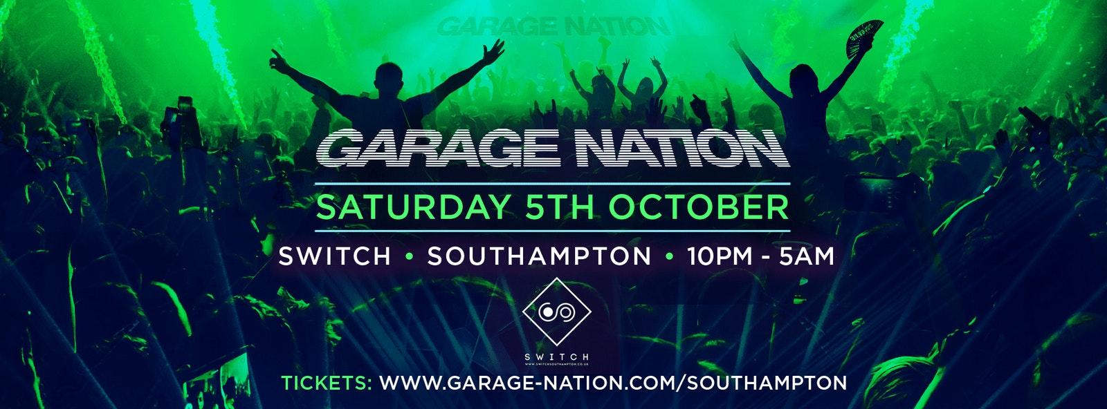 Garage Nation Southampton