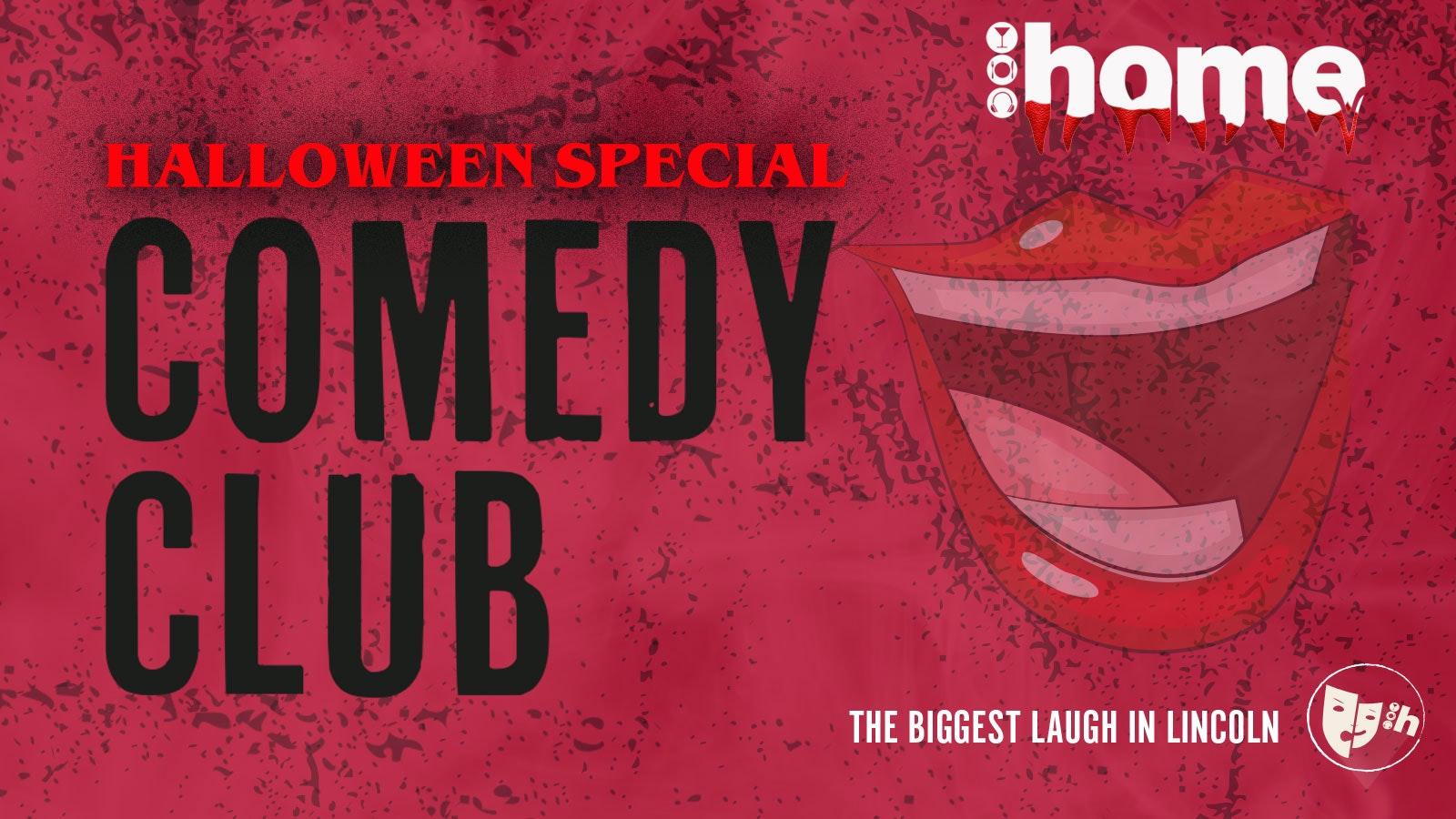 Comedy Club – Halloween Special