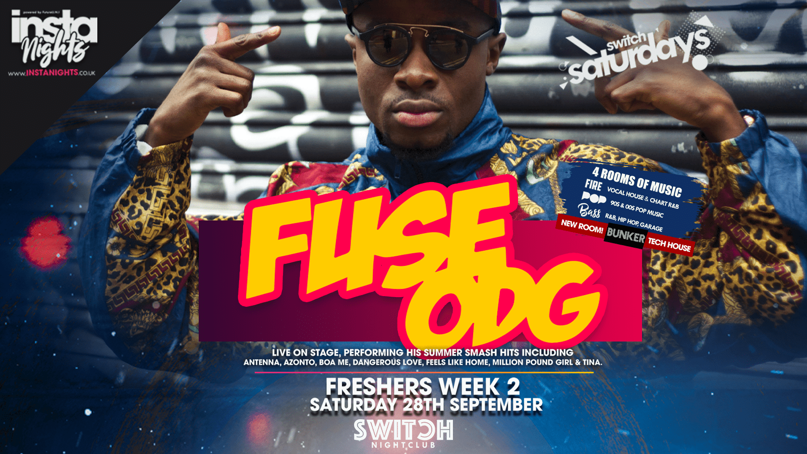 Switch Saturdays Present Fuse ODG