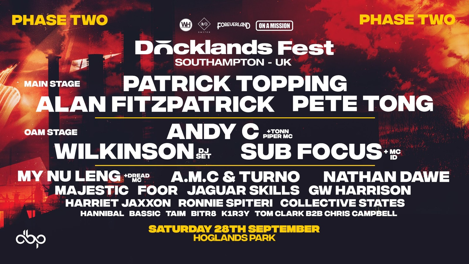 Docklands Festival Southampton – Final 1,000 Tickets Added – 28th September
