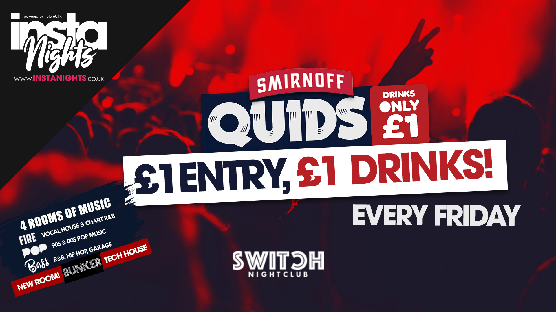 Quids Fridays – 25th Oct