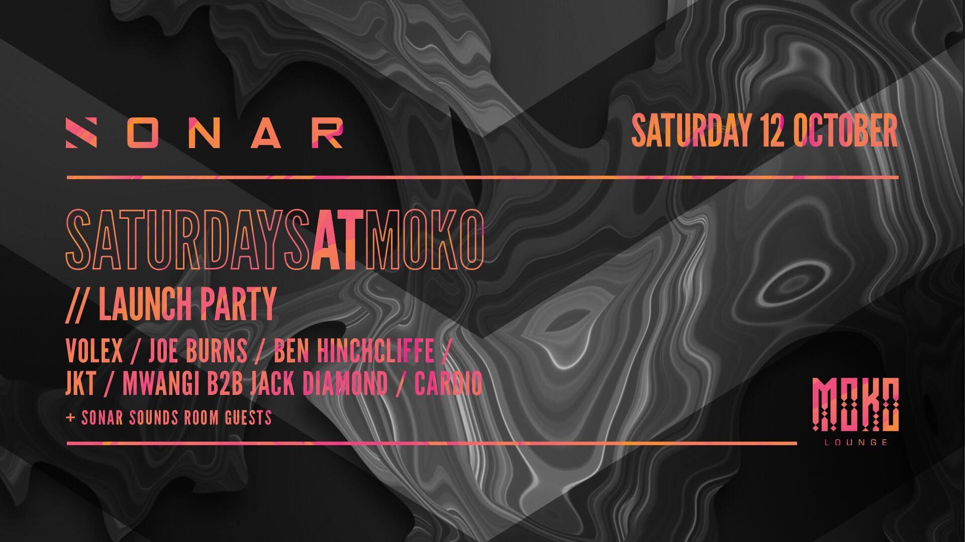 SONAR Events Presents: Sonar Saturday Launch