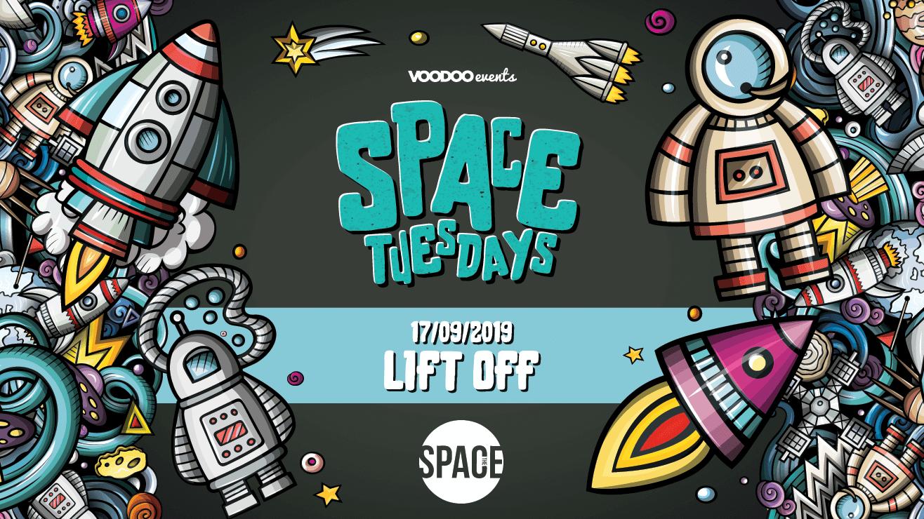 Space Tuesdays : Leeds – Lift Off