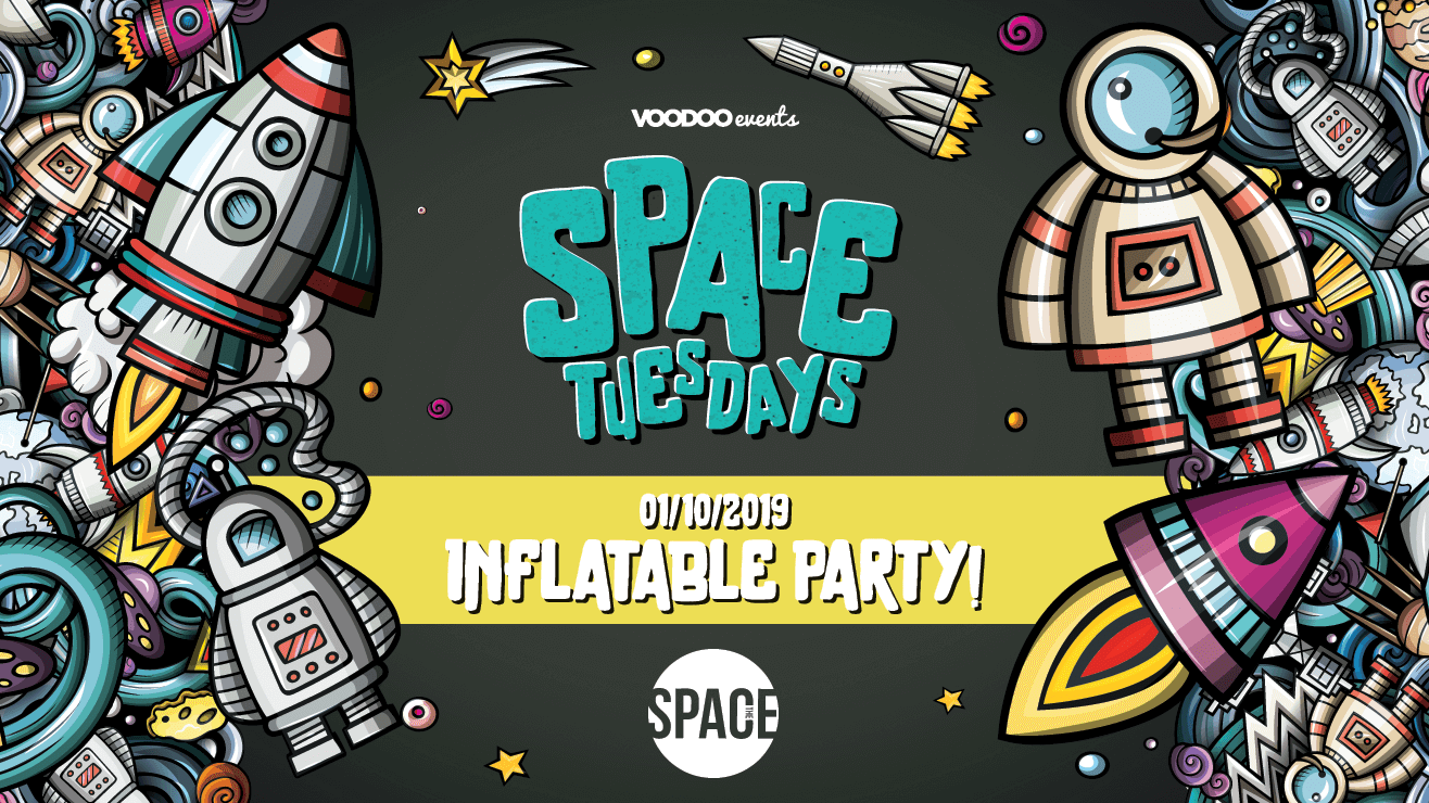 Space Tuesdays : Leeds – Inflatable Party