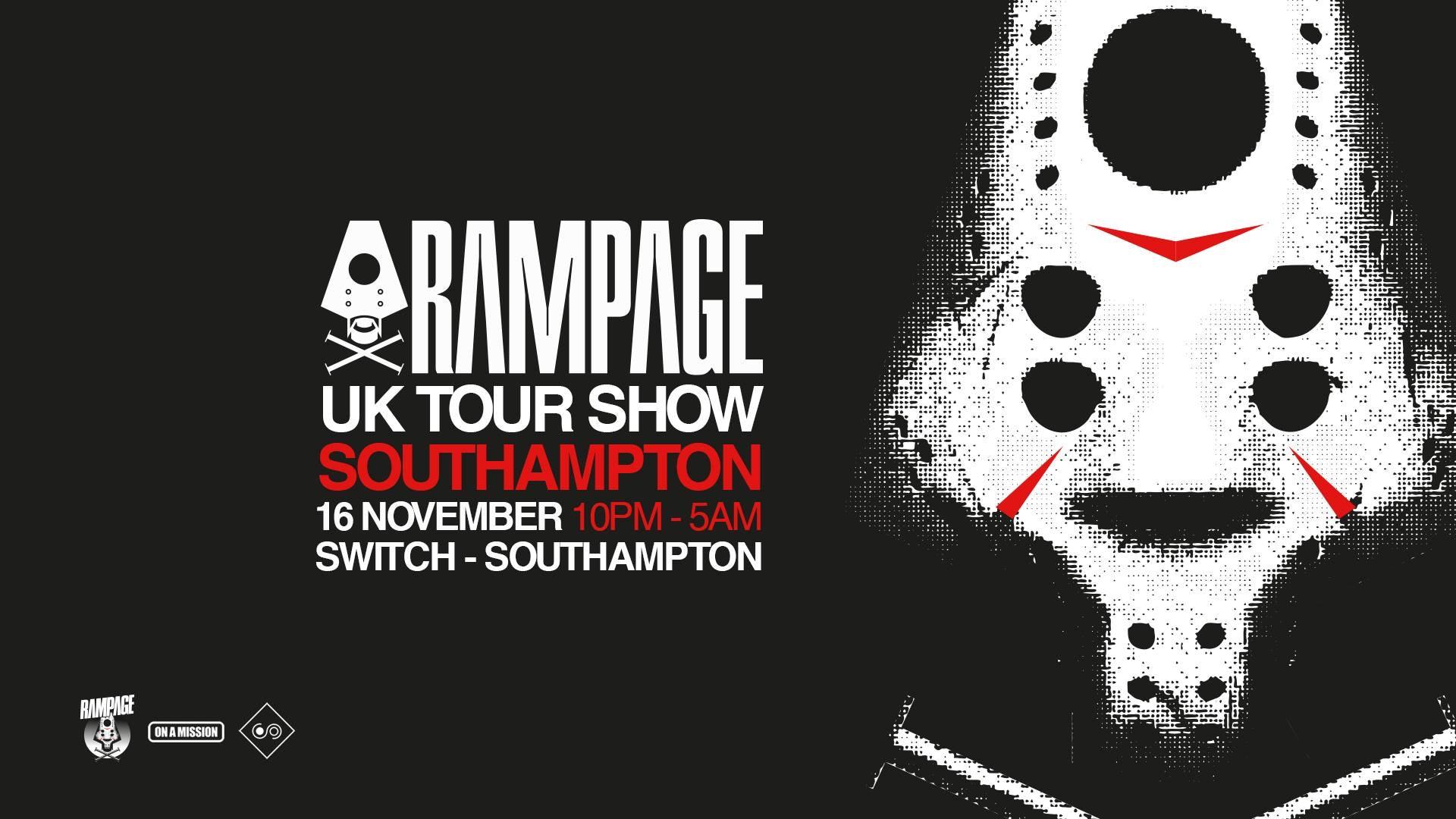16th Nov: Rampage