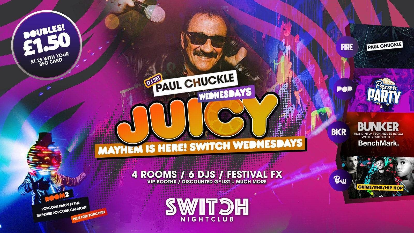 Juicy Ft – Paul Chuckle (Chuckle Brothers)