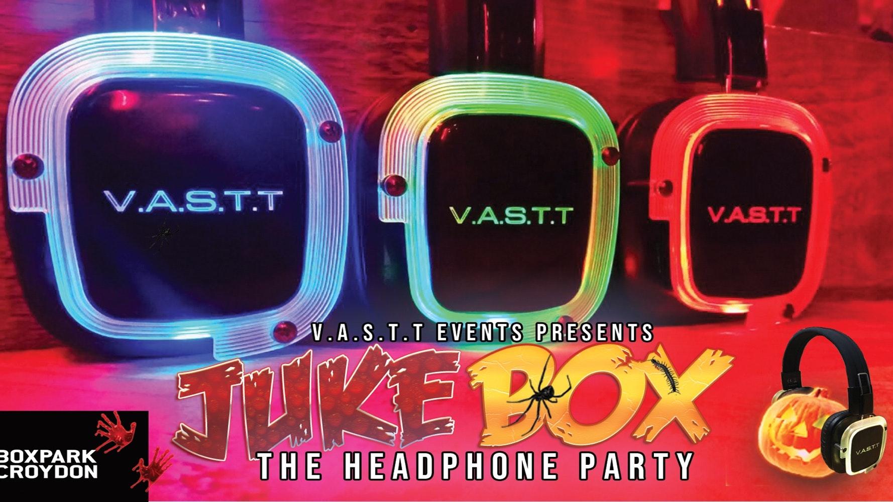 HALLOWEEN Headphone party @BOXPARK CROYDON