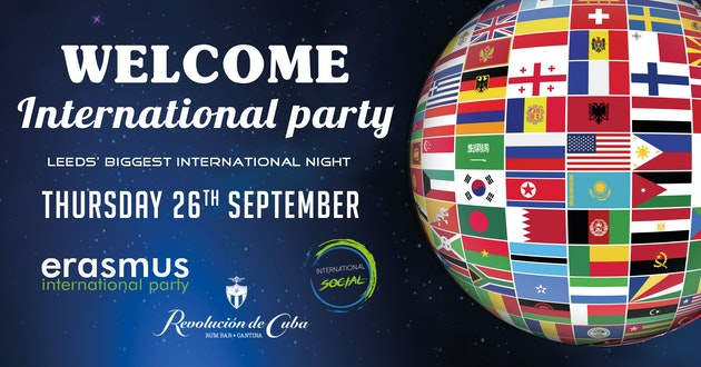 Welcome International Party – Leeds