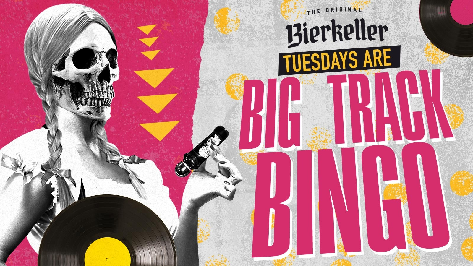 Big Track Bingo – Tuesday