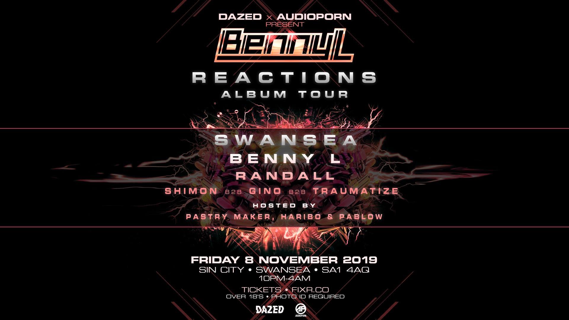 Benny L : Reactions Album Tour