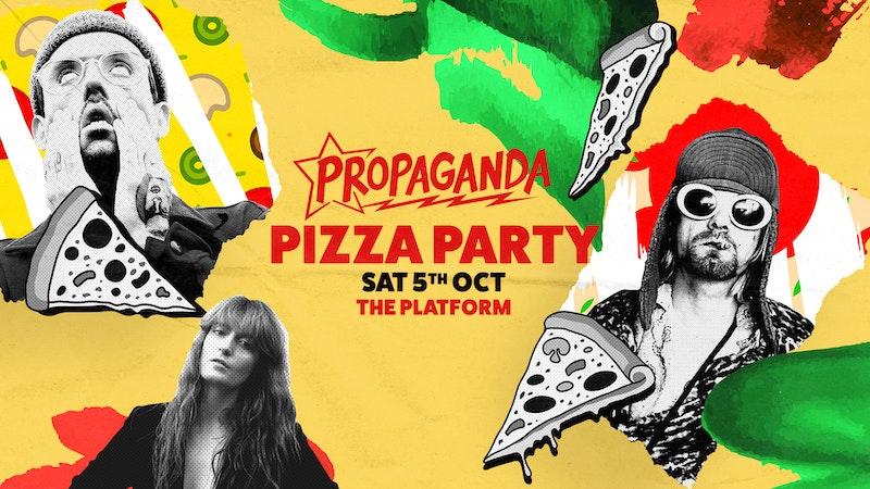 Propaganda Northampton – Pizza Party!