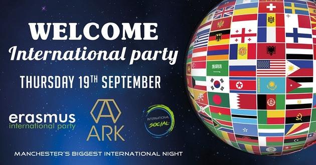 Erasmus Welcome International Party – Manchester