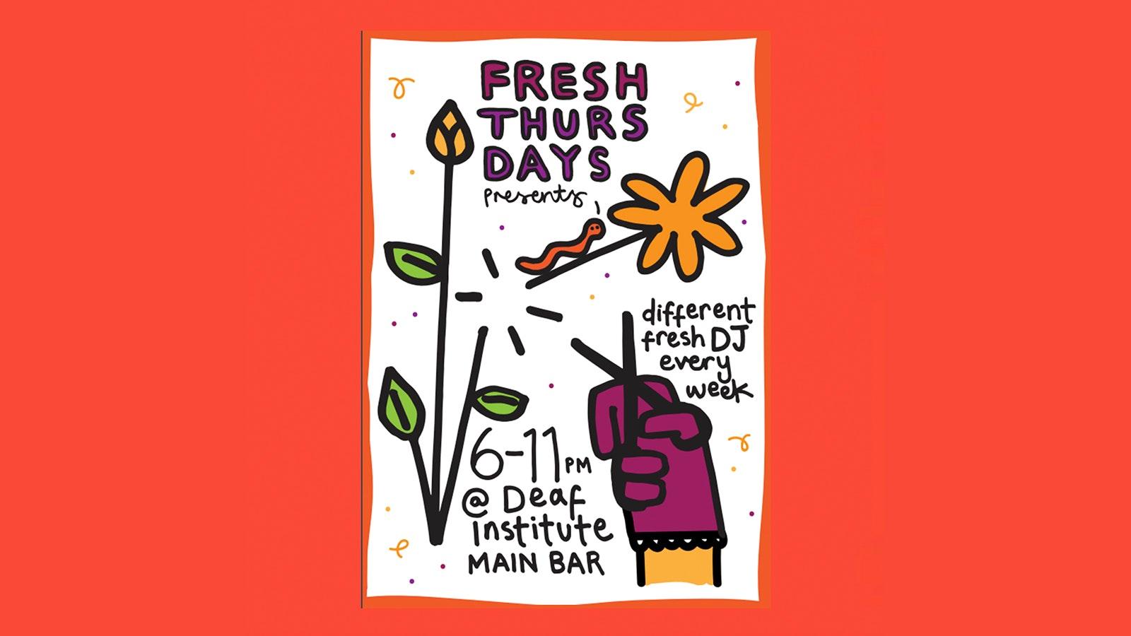 FRESH THURSDAYS PRESENTS … ALL HANDS ON DECK