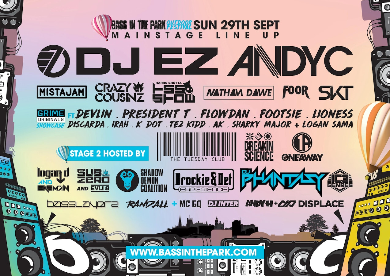 BASS IN THE PARK FESTIVAL 2019 // SHEFFIELD FRESHERS 2019