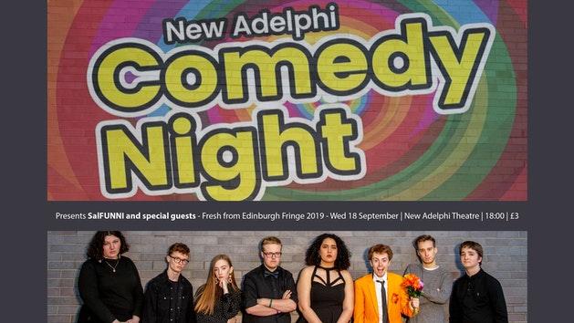 New Adelphi Comedy Night ft. SalFUNNI