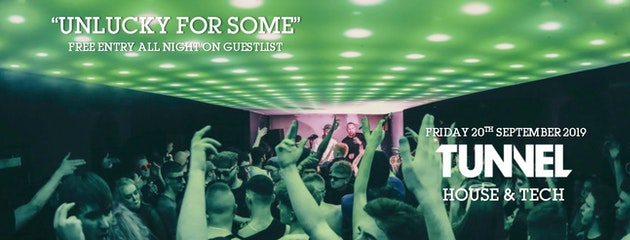 Unlucky For Some Part 2 (FREE PARTY) // House & Tech
